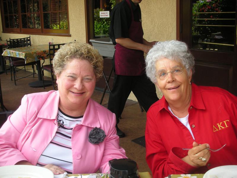 Beverly Todd and Joy Olsen