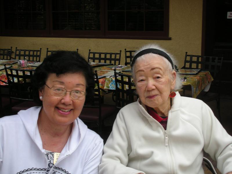Sumie Imada and Mom