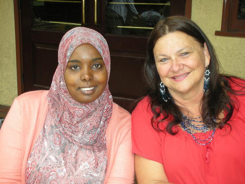 Scholarship Recipient and Marsha Gastelum