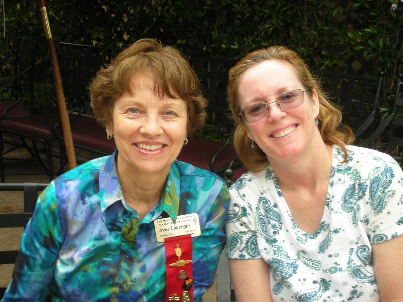 Irene Lonergan and Karen Bowen