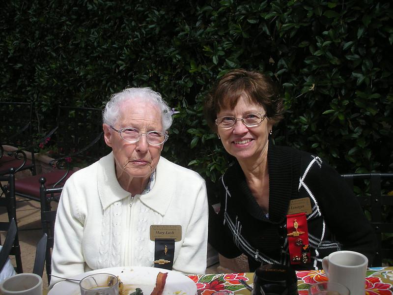 Mary Lash and Irene Lonergan