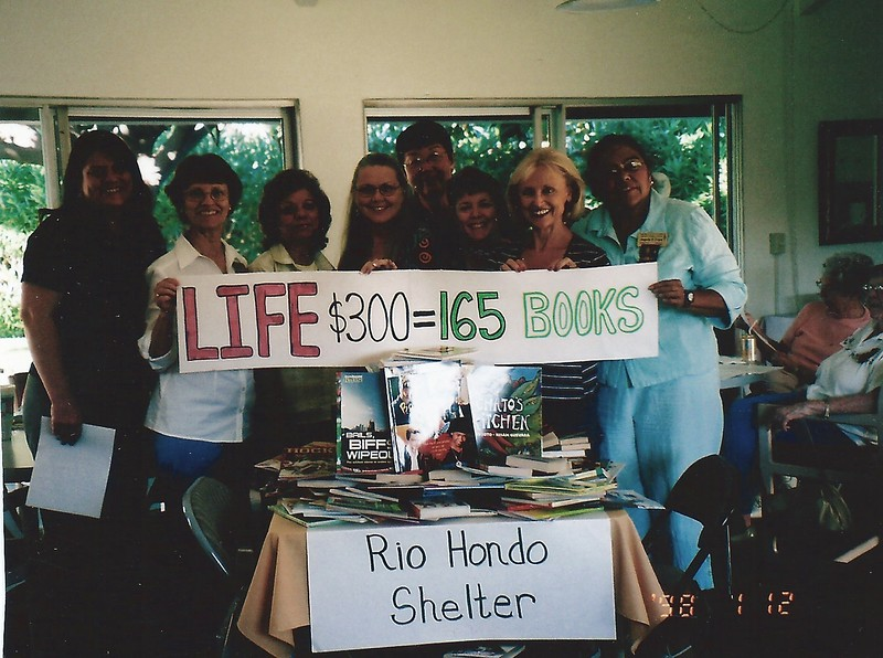 Books for Rio Hondo Shelter 10/9/07