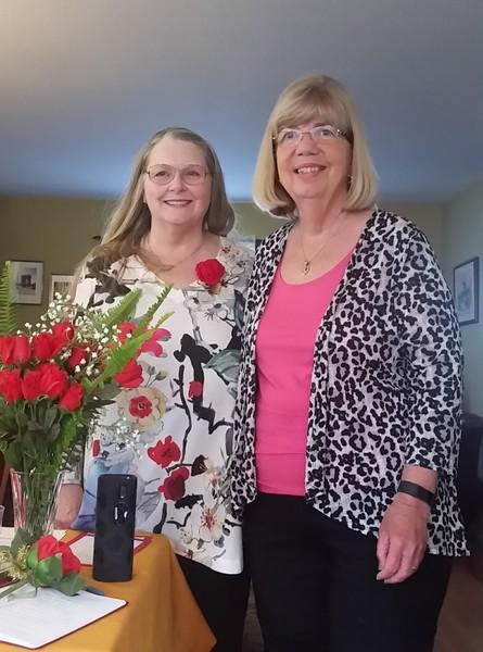 President Linda Norman & Julie Drysdale