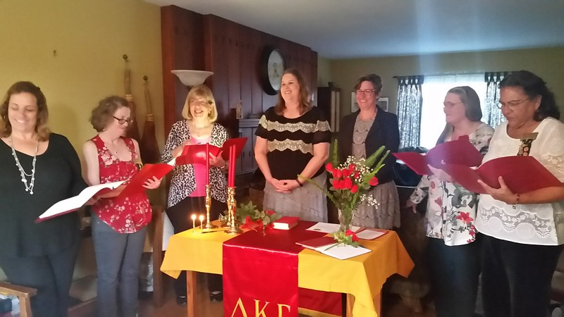 Initiation of Tammy Harter & Carey Van Gremp