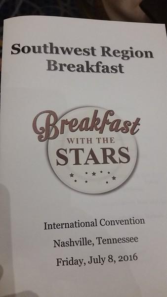 Convention Breakfast