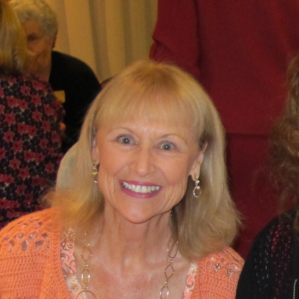 Susan Lance (in-coming co-president), Marsha Gastelman (incoming corresponding secretary), Suzanne Fraser (incoming 1st Vice President)