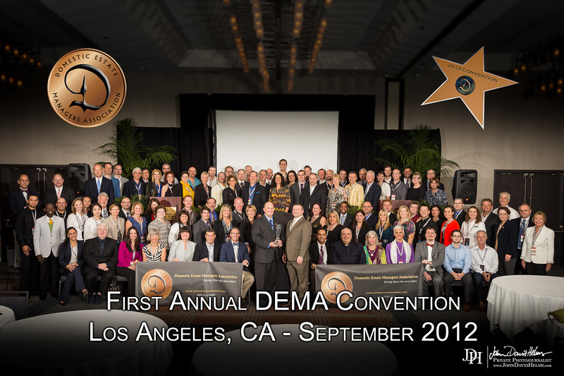 September 30, 2012 - Sunday morning sessions and group photos at the DEMA Convention, Sheraton Gateway Hotel, Los Angeles, CA.  Photo by John David Helms with assistance from Jeri Malloy and Shana Helms.