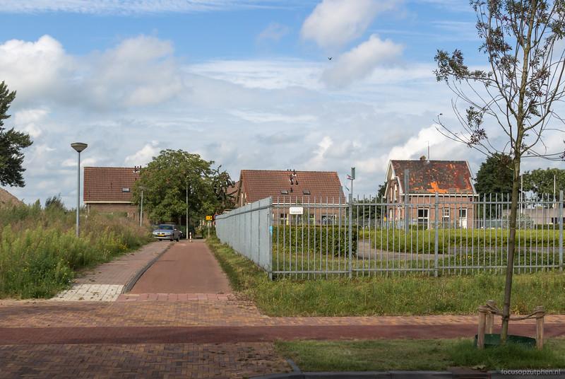 De Voormars gezien vanuit de Coenenensparkstraat