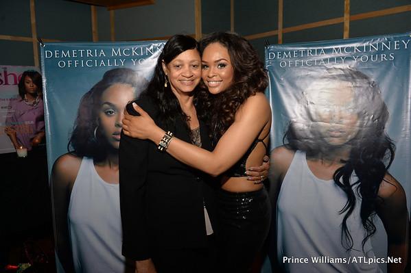 Demetria McKinney & Mother