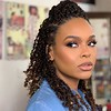 Demetria McKinney on set of Will Sterling Photography - February 25, 2019