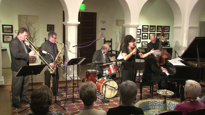 Gerard Hagen Trio with the lovely Leslie Lewis performing at Casa Romantica