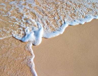 Pink Bermuda sand...