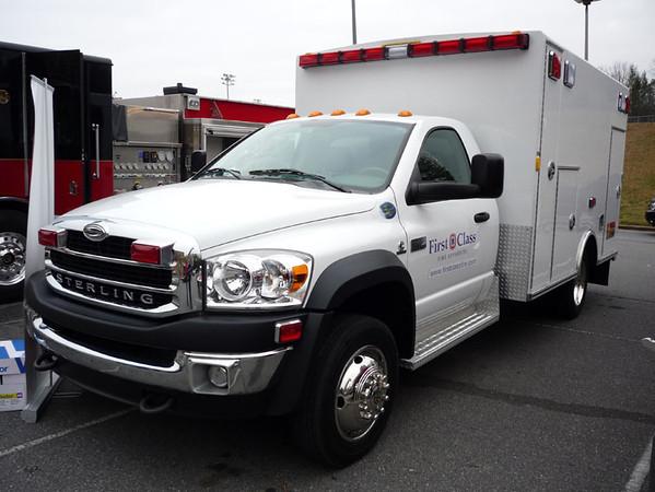 2008 Sterling Bullet/Braun<br /> Type-I Ambulance<br /> S/N # 5152<br /> <br /> Now serves ???<br /> <br /> Andrew Messer Photo