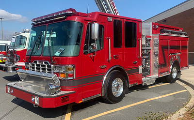 2019 Ferrara Cinder 1750/1000/20A S/N # H-6510  Displayed at Mid-Winter Chiefs Conference 2020 in Concord, NC Displayed at SAFRE 2019 in Raleigh, NC Displayed at Fire Truck Festival at the NC Transportation Museum 2019  Andrew Messer