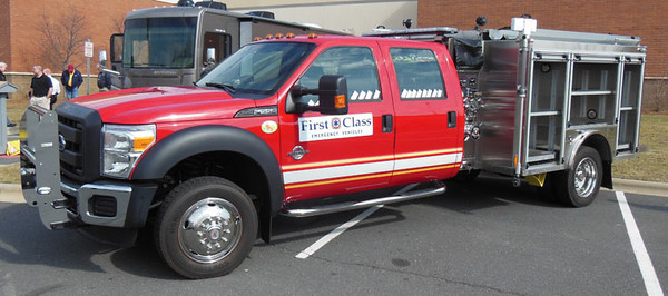 """2013 Ford F-550/Ahrens Fox MiniMax3<br /> 1500/400/17A<br /> S/N # 22552<br /> <br /> Now serves Notre Dame University, IN as """"Squad 1142""""<br /> <br /> Andrew Messer Photo"""