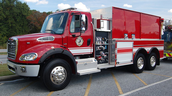 """2011 Freightliner M2/Pierce<br /> 1000/3000<br /> Job # 24177<br /> PC # 12687201<br /> <br /> Now serves Newton Twp, OH as """"Tanker 1081""""<br /> <br /> Andrew Messer Photo"""