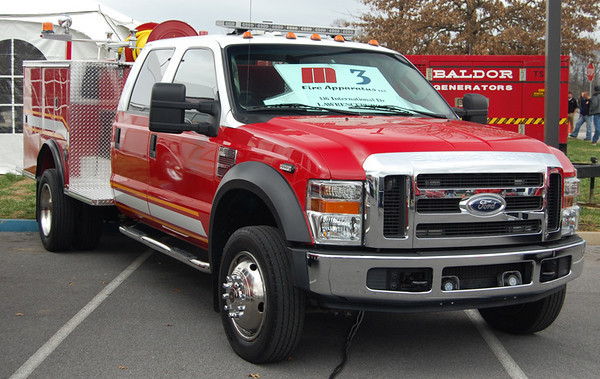2007 Ford F-550/1975 Pierce/2008 M3 Fire refurb<br /> 300/300<br /> <br /> Now serves ???<br /> <br /> Andrew Messer Photo