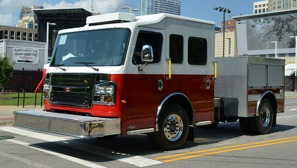 2014 Rosenbauer Commander<br /> <br /> Displayed at SAFRE 2014<br /> <br /> Andrew Messer Photo