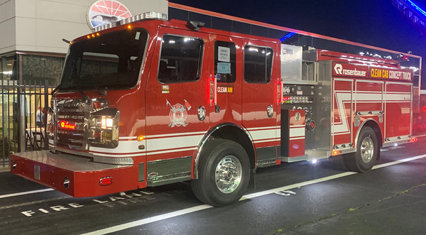 2018 Rosenbauer Warrior<br /> 1500/750<br /> S/N # 17735<br /> <br /> Andrew Messer Photo