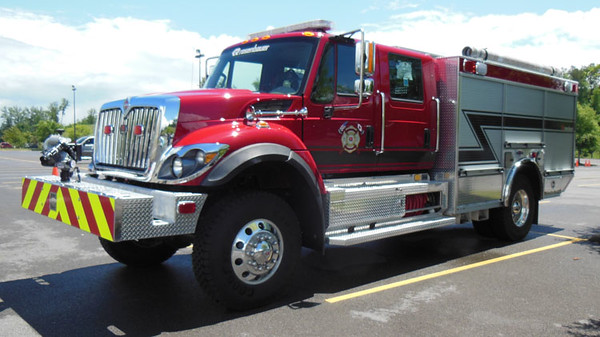 2015 IHC 7400/Rosenbauer Timberwolf<br /> 1250/750/30A<br /> S/N # 94034<br /> <br /> Displayed at Smoky Mountain Weekend 2016<br /> <br /> Andrew Messer Photo