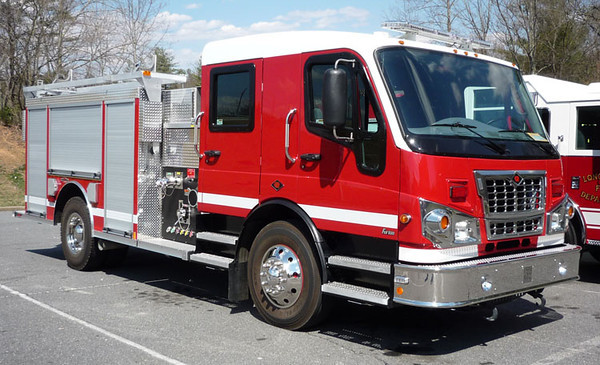 """2009 Spartan Furion/Rosenbauer<br /> 1500/750<br /> S/N # 1488110<br /> <br /> Now serves American Township Fire Department of Lima, OH as """"Engine 1911""""<br /> <br /> Andrew Messer Photo"""