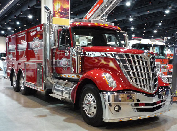 """2009 IHC LoneStar/Rosenbauer<br /> 750/3000<br /> S/N # 2773<br /> <br /> Now serves Lincoln County Fire Services of Bonito, NM as """"Engine 116""""<br /> <br /> Andrew Messer Photo"""