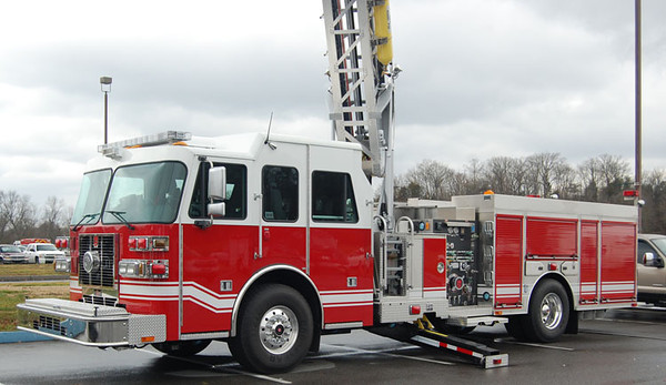 """2013 Sutphen<br /> 1500/350/75' Sutphen<br /> S/N # HS-5312 / Stock 382<br /> <br /> Now serves Selkirk, NY as """"Truck 40""""<br /> <br /> Andrew Messer Photo"""