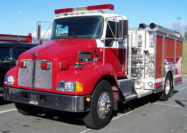 2004 Kenworth T-300/Sutphen<br /> 1500/750<br /> S/N # HS-3942<br /> Stock # 182<br /> <br /> Now serves Butler County Fire District #10 of Burns, KS<br /> <br /> Andrew Messer Photo