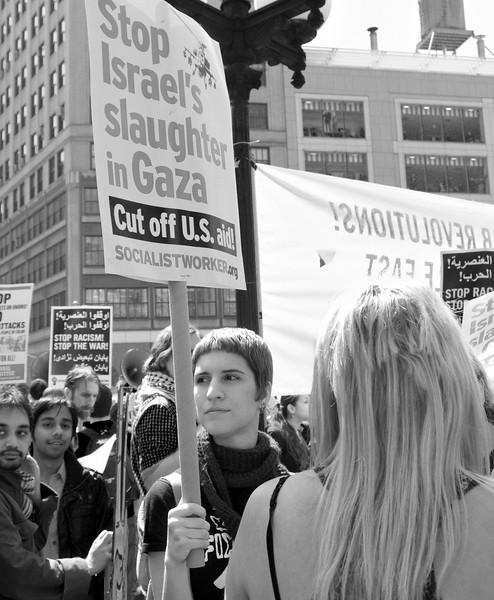 anti-war Union Square demo P4090379