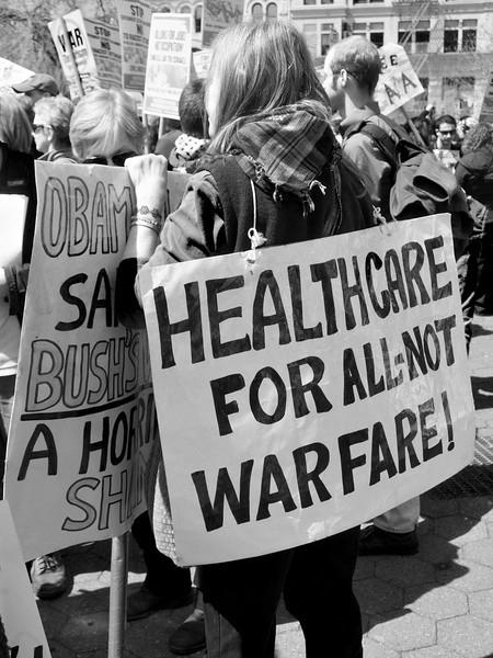 anti-war Union Square demo P4090365