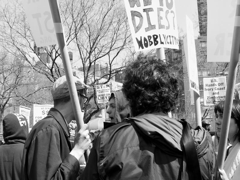 anti-war Union Square demo P4090385