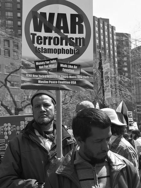 anti-war Union Square demo P4090383