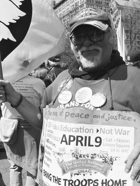 anti-war Union Square demo P4090384