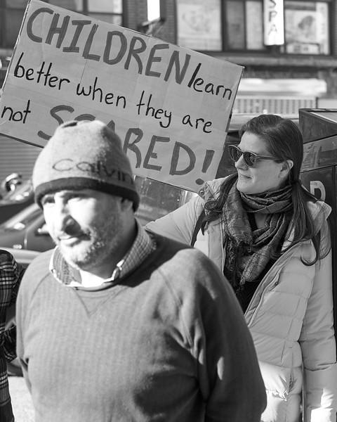 Demo against hate Bay Ridge Jan 2017 _DSF6244