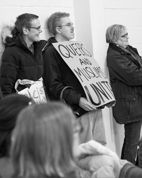 Demo against hate Bay Ridge Jan 2017 _DSF6268