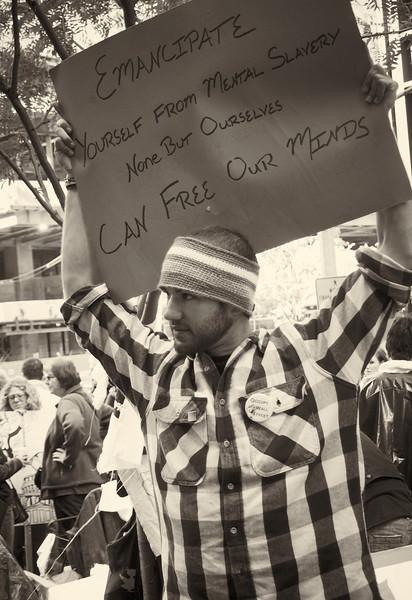 PA152085  #Occupy Wall Street b&w