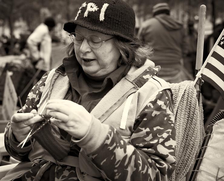 CF009235  #Occupy Wall Street b&w