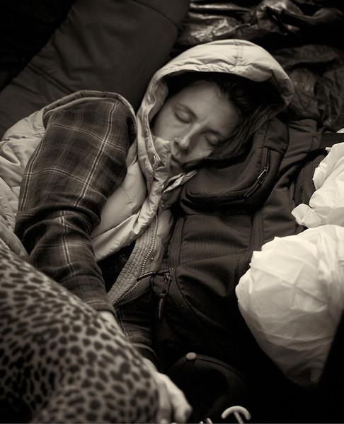 CF009190  #Occupy Wall Street b&w