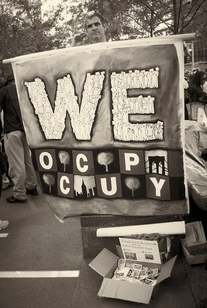 PA152071  #Occupy Wall Street b&w
