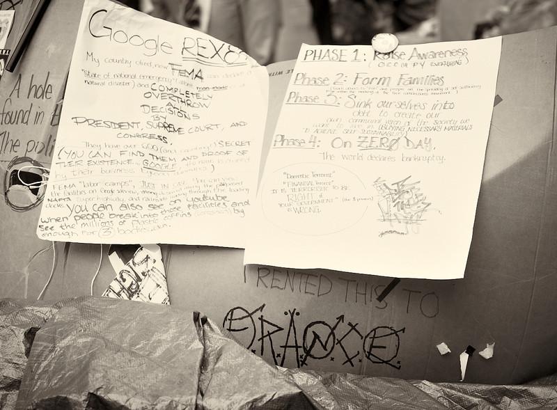 CF009175  #Occupy Wall Street b&w