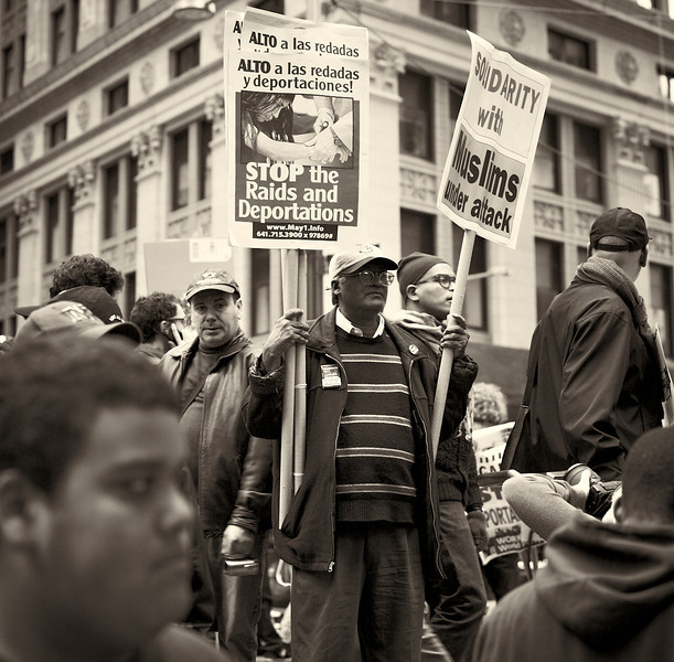 CF009241  #Occupy Wall Street b&w
