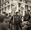 CF009241  #Occupy Wall Street b&w