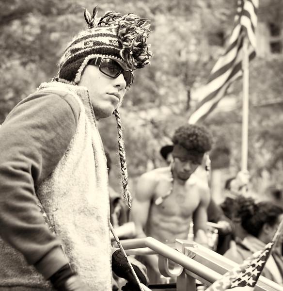 CF009228  #Occupy Wall Street b&w