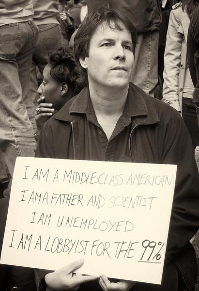 PA152094  #Occupy Wall Street b&w