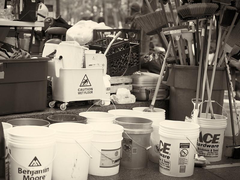 CF009181  #Occupy Wall Street b&w