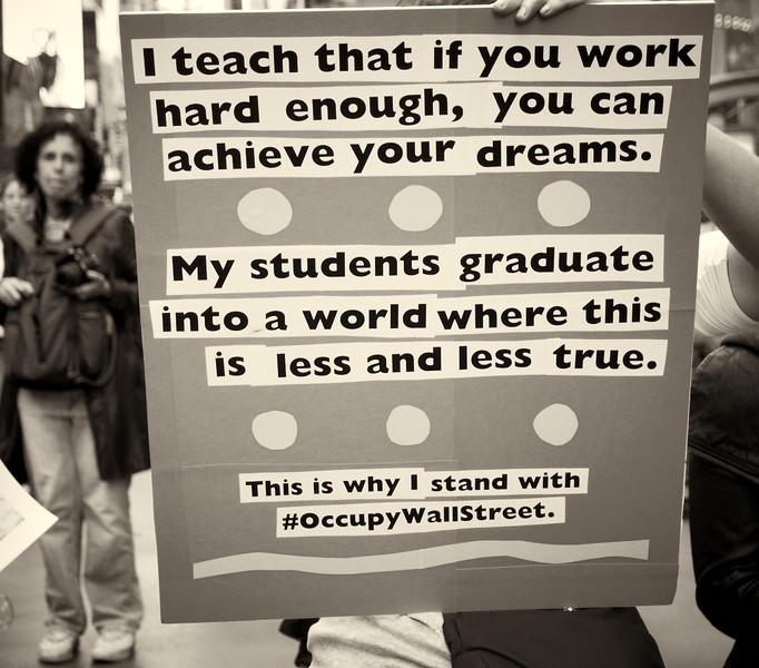 PA152159  #Occupy Wall Street b&w
