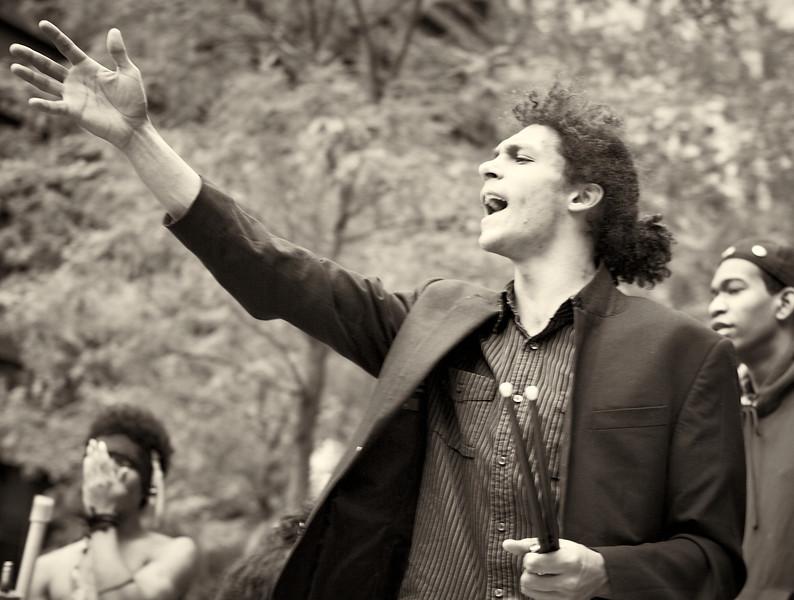 CF009224  #Occupy Wall Street b&w