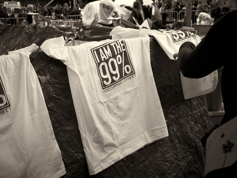 PA172203  #Occupy Wall Street b&w