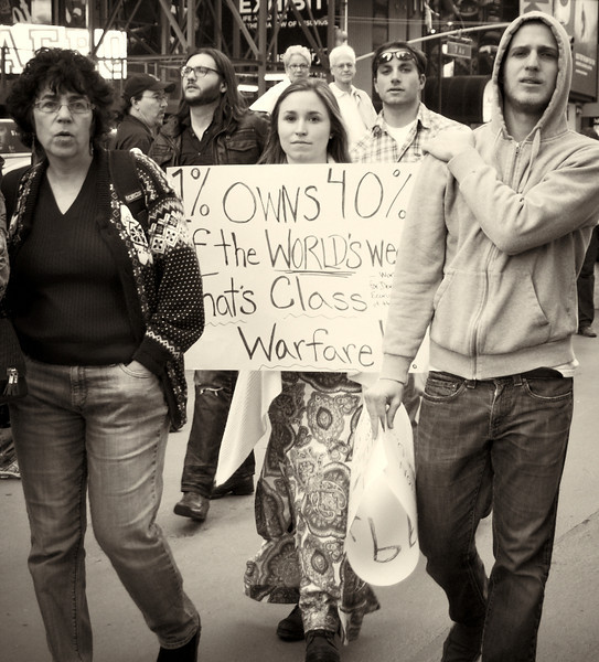 PA152137  #Occupy Wall Street b&w