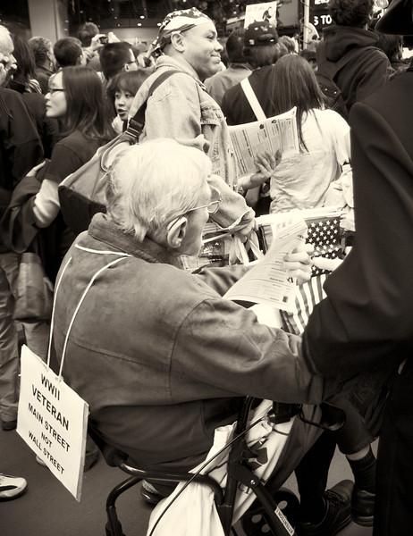 PA152146  #Occupy Wall Street b&w